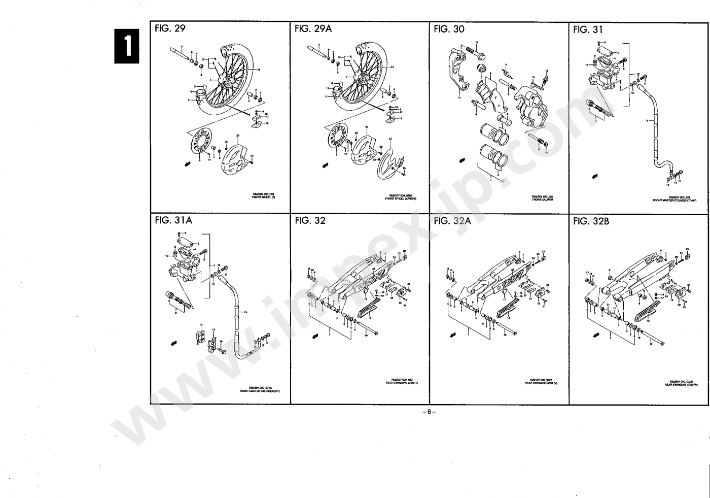 Motorcycle Parts Suzuki Rm250 Rj17a Impex Japan 2000 Rm 250 Engine Diagram Select Schema For Detail Viewing