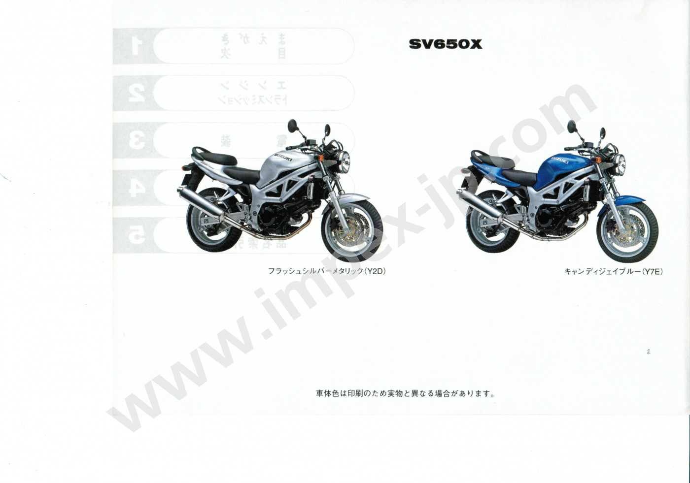 Marvelous Jp Motorcycle Parts And Accessories #2: Motorcycle Parts SUZUKI SV650